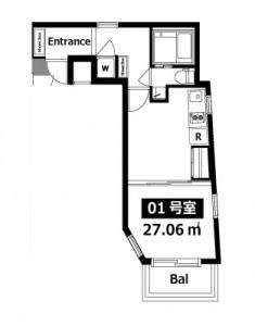 01号室図